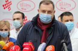 ДОДИК: Доктори и не иду кући, баве се пацијентима, хвала им на свему!