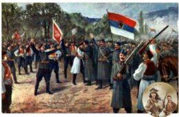 ВЈЕСНИК - 1913: Црна Гора и Херцеговина, два чврста српска бедема, чувају успомену на дичне српске синове из земље Херцегове