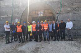 """ЛУКА ПЕТРОВИЋ: Завршетком тунела """"Фатничко поље"""" обезбјеђују се услови за градњу ХЕ Билећа"""