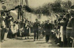 Соколи приликом посјете Краља Александра и КраљицеМарије Црној Гори и Приморју 1925.