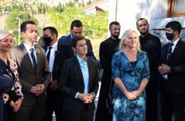 БРНАБИЋ: Наставићемо да помажемо пројекте српске заједнице у Мостару